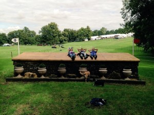 Burghley let up fence! copy