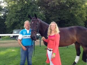 Derby before the trot up with Alex Van Tuyll copy